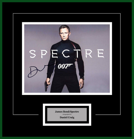 James Bond Spectre- Signed by Daniel Craig - Framed Artist Series