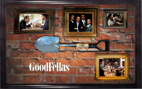Goodfellas - Signed Shovel- Custom Framed