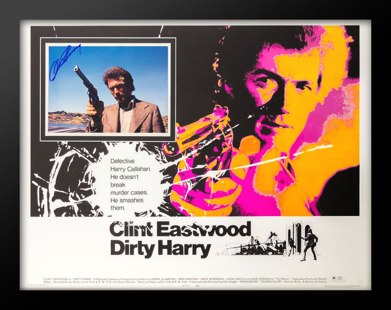 Dirty Harry - Signed Movie Poster