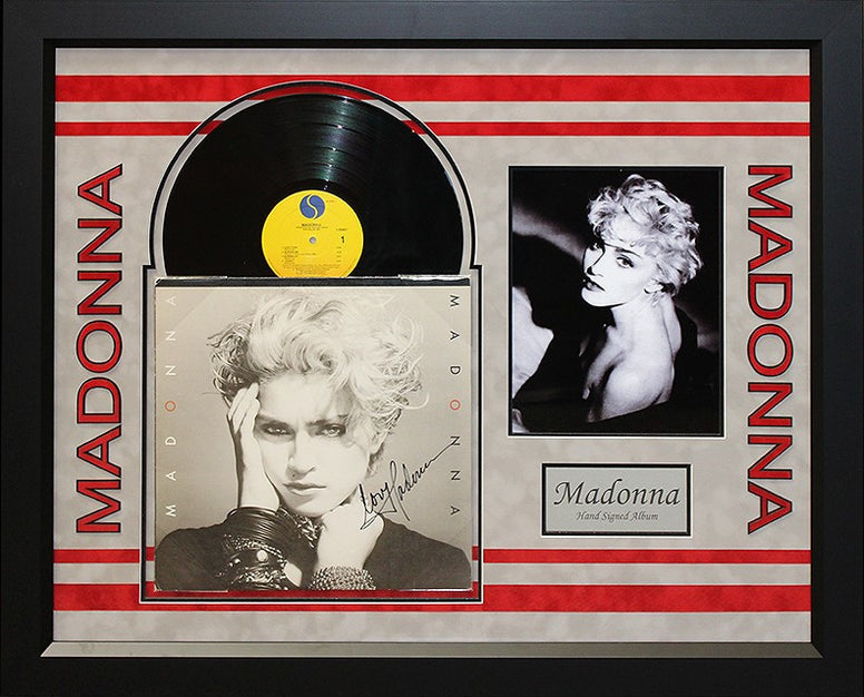 Madonna Autographed Debut Album - LuxeWest