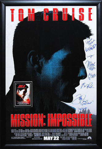 Mission: Impossible - Signed Movie Poster