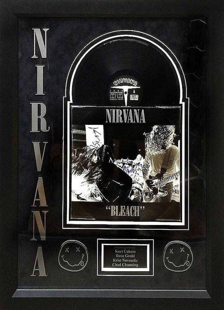 Nirvana - Bleach - Signed Album