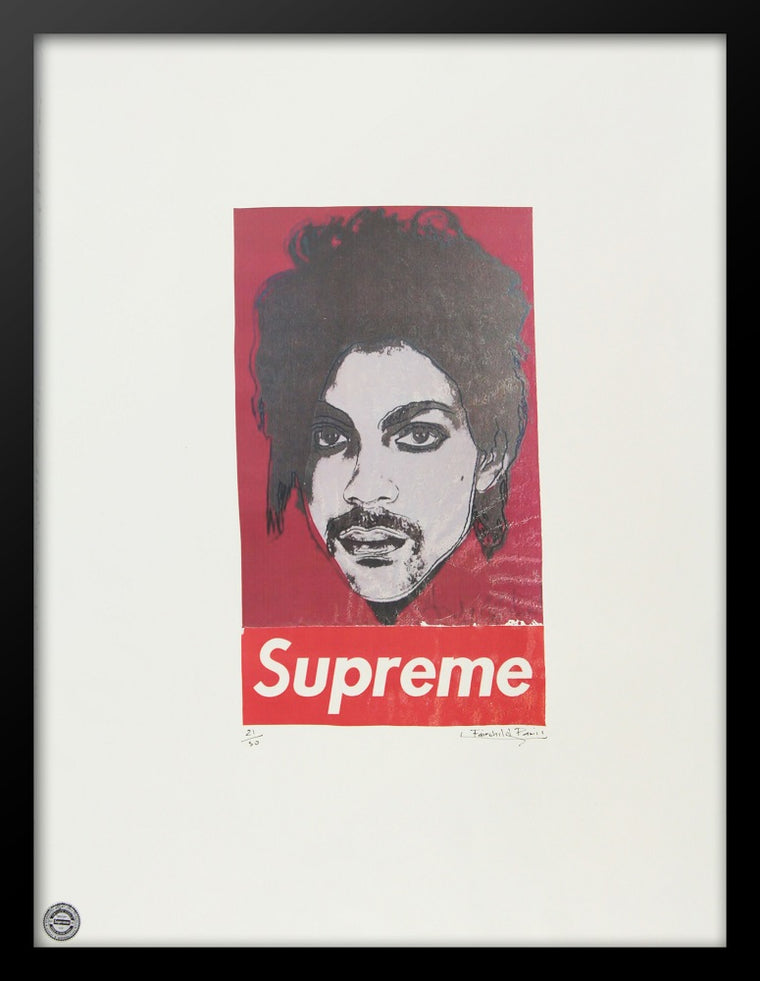 Prince Supreme Advertising Poster by Fairchild Paris