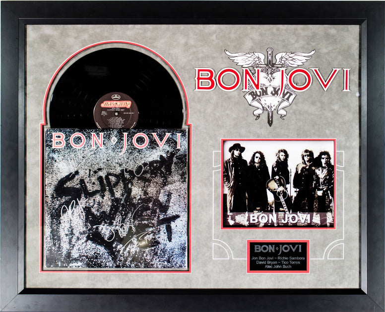 Bon Jovi - Slippery When Wet - Signed Album