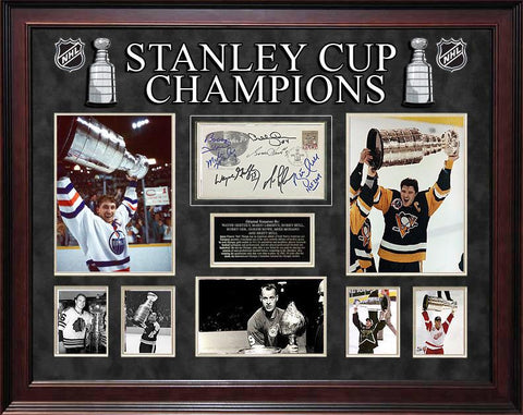 """Stanley Cup Champions""  Signed 1993 First Day Issue! - LuxeWest"