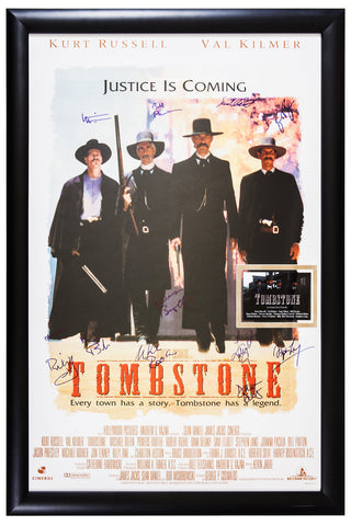 Tombstone - Signed Movie Poster