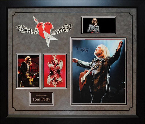Tom Petty - Signed Photo Collage