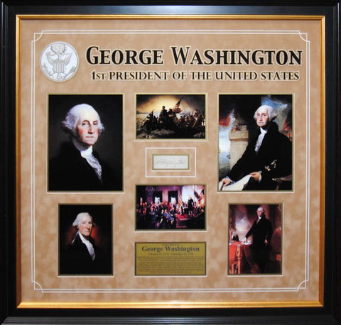 """1st US President""  George Washington original signature"