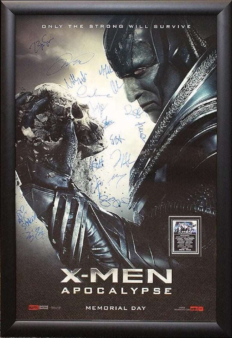 X-Men: Apocalypse - Signed Movie Poster