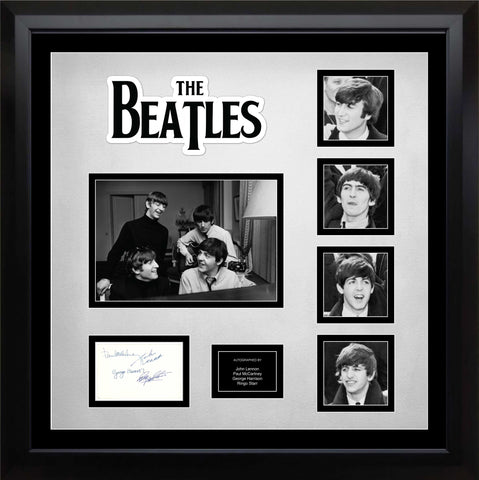 The Beatles Signed 2nd Album - Custom Framed