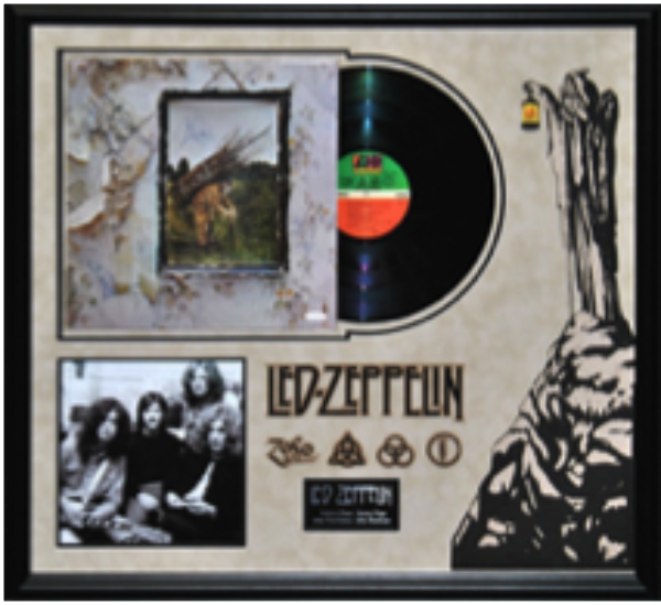 Led Zeppelin Signed Album - LuxeWest