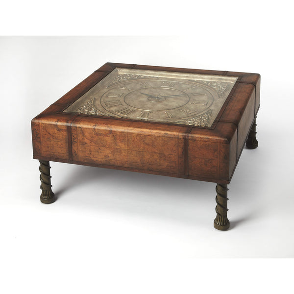 Old World Map Coffee Table.Butler Vasco Old World Map Clock Coffee Table 286070 Floor Mirror