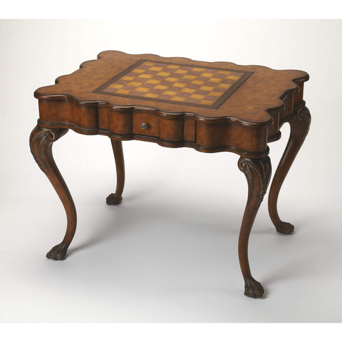 Butler Bianchi Traditional Game Table 464070-Game Tables-Floor Mirror Gallery