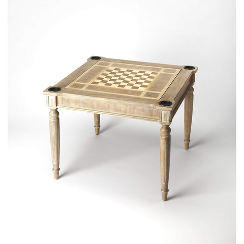 Butler Vincent Driftwood Multi-Game Card Table 837247-Game Tables-Floor Mirror Gallery
