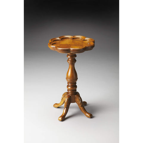 Butler Whitman Olive Ash Burl Scatter Table 923101-Accent Table-Floor Mirror Gallery