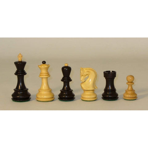 Black Old Russian, Checkmate, India, 1007BO, by WorldWise Imports-Chessmen-Floor Mirror Gallery