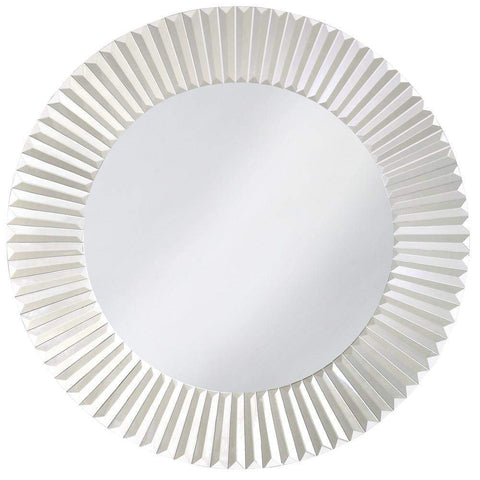 Howard Elliott Torino Round Mirror 30H x 30W x 1D - 11005-Wall Mirror-Floor Mirror Gallery