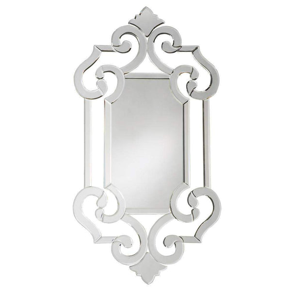 Howard Elliott Clarice Venetian Mirror 41H x 22W x 1D - 11051-Wall Mirror-Floor Mirror Gallery
