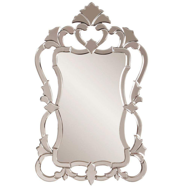 Howard Elliott Contessa Venetian Mirror 43H x 26W x 1D - 11103-Wall Mirror-Floor Mirror Gallery
