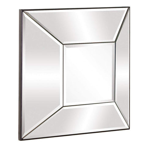 Howard Elliott Stephen Square Mirror 17H x 17W x 4D - 11142-Wall Mirror-Floor Mirror Gallery