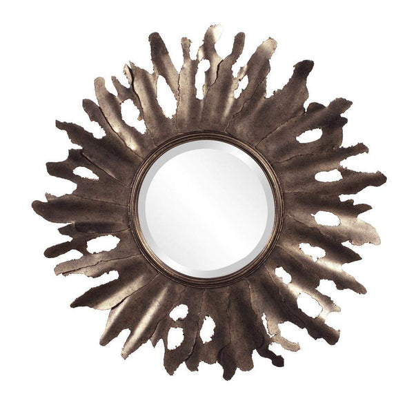 Howard Elliott Compass Starburst Mirror 32H x 47W x 16D - 11169-Wall Mirror-Floor Mirror Gallery