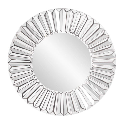 Howard Elliott Torino Sunburst Mirror 30H x 30W x 1D - 11203-Wall Mirror-Floor Mirror Gallery