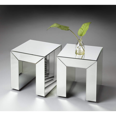 Butler Tabitha Mirrored Bunching Table 1190146-Accent Table-Floor Mirror Gallery