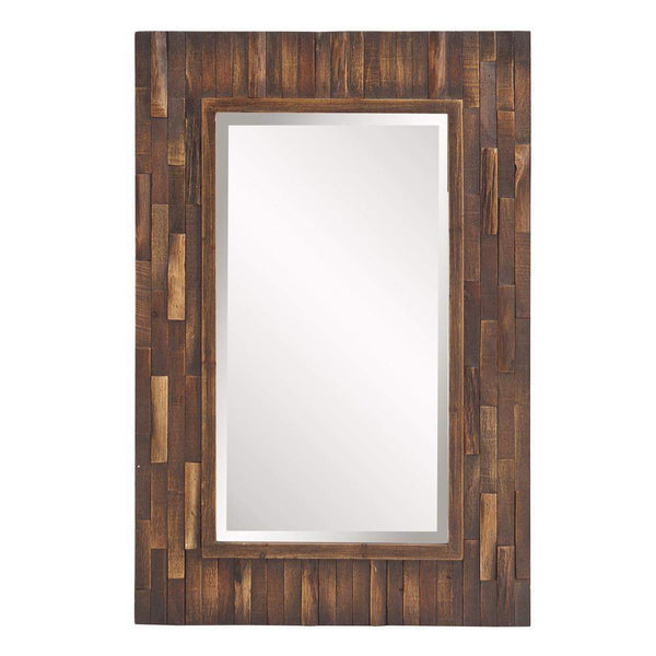 Howard Elliott Forrest Rectangular Mirror 36H x 24W x 1D - 14259-Wall Mirror-Floor Mirror Gallery