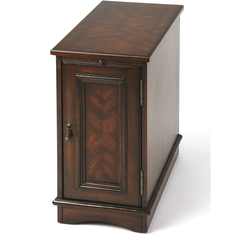 Butler Harling Plantation Cherry Chairside Chest 1476024-Chairside Chests-Floor Mirror Gallery