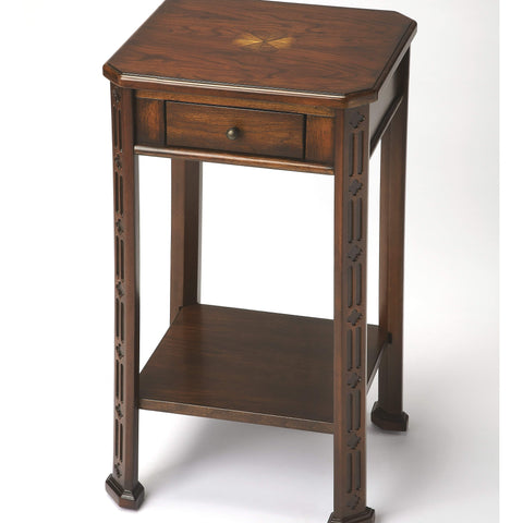Butler Moyer Plantation Cherry Accent Table 1486024-Accent Table-Floor Mirror Gallery