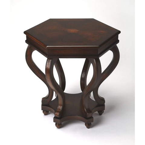 Butler Margaret Plantation Cherry Accent Table 1560024-Accent Table-Floor Mirror Gallery