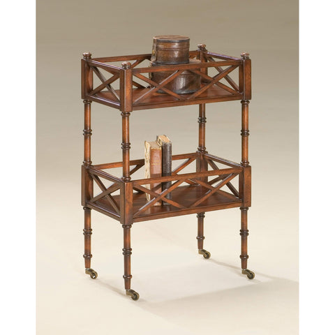 Butler Foster Plantation Cherry Mobile Server 1565024-Serving Tables-Floor Mirror Gallery