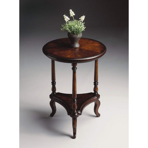Butler Petry Plantation Cherry Accent Table 1590024-ACCENT TABLE-Floor Mirror Gallery