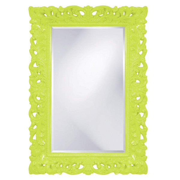 Howard Elliott Barcelona Green Mirror 46H x 32W x 4D - 2020MG-Wall Mirror-Floor Mirror Gallery