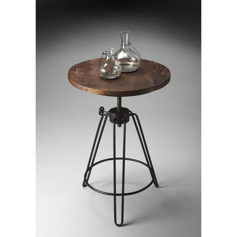 Butler Trenton Metal & Wood Accent Table 2046025-Accent Table-Floor Mirror Gallery