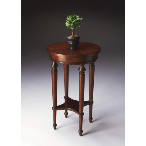 Butler Blackwell Plantation Cherry Accent Table 2100024-Accent Table-Floor Mirror Gallery