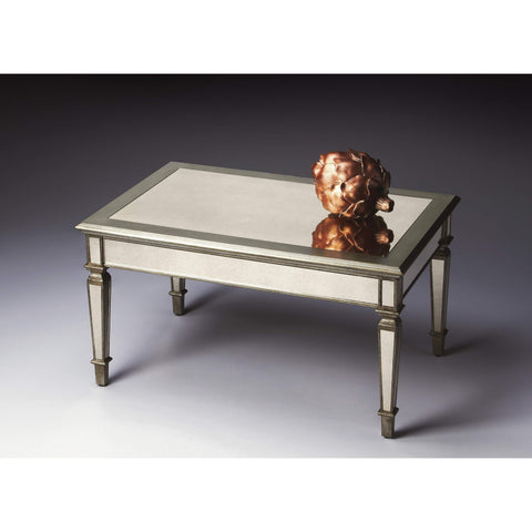Butler Celeste Mirrored Coffee Table 2102146-Cocktail Tables-Floor Mirror Gallery
