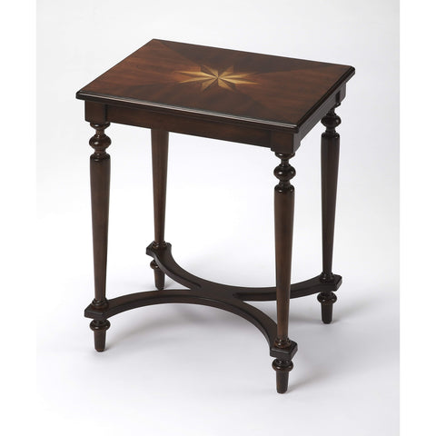 Butler Tyler Plantation Cherry Accent Table 2116024-ACCENT TABLE-Floor Mirror Gallery
