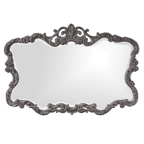 Howard Elliott Talida Charcoal Gray Mirror 38H x 27W x 1D - 21183CH-Wall Mirror-Floor Mirror Gallery