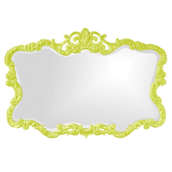 Howard Elliott Talida Green Mirror 38H x 27W x 1D - 21183MG-Wall Mirror-Floor Mirror Gallery