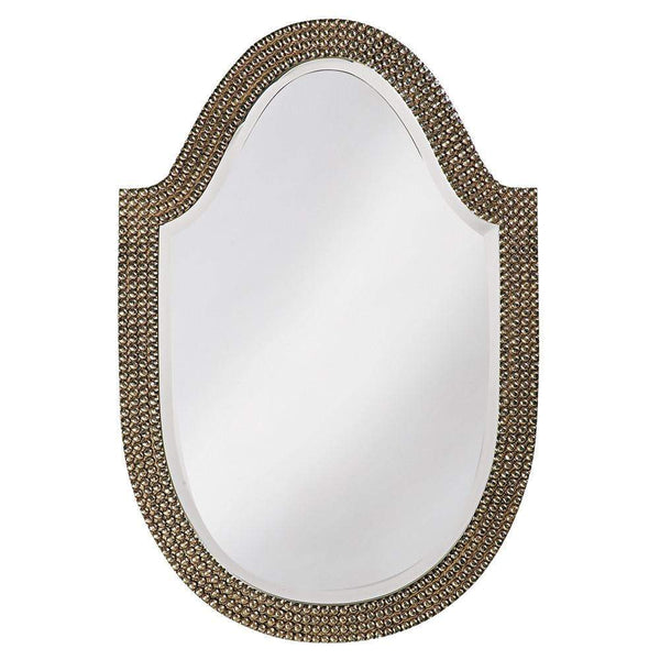 Howard Elliott Lancelot Arched Mirror 32H x 21W x 1D - 2125-Wall Mirror-Floor Mirror Gallery