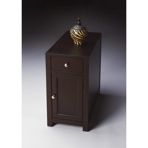 Butler Benson Merlot Chairside Table 2129022-Chairside Chests-Floor Mirror Gallery
