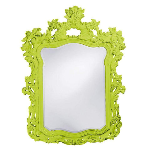 Howard Elliott Turner Green Mirror 56H x 42W x 2D - 2147MG-Wall Mirror-Floor Mirror Gallery