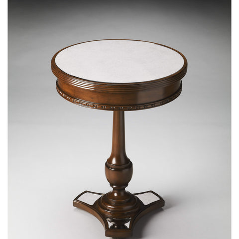 Butler Adele Mirror And Mahogany Accent Table 2217299-Accent Table-Floor Mirror Gallery