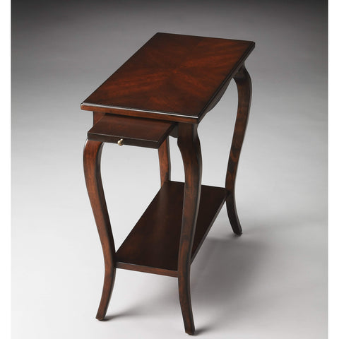 Butler Sabrina Plantation Cherry Chairside Table 2247024-Chairside Chests-Floor Mirror Gallery
