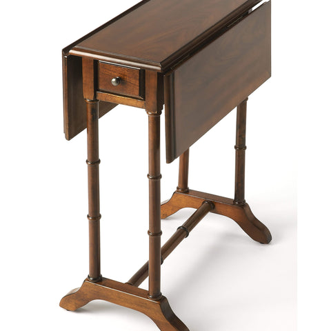Butler Darrow Umber Drop-Leaf Table 2334040-Accent Table-Floor Mirror Gallery