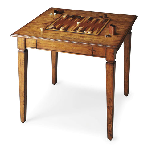 Butler Breckinridge Rustic Game Table 2364120-Game Tables-Floor Mirror Gallery