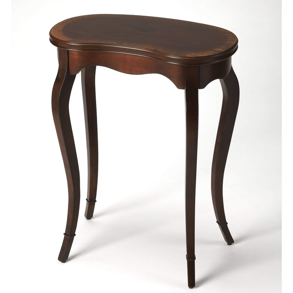 Butler Marlowe Plantation Cherry Kidney-Shaped Table 2419024-Accent Table-Floor Mirror Gallery