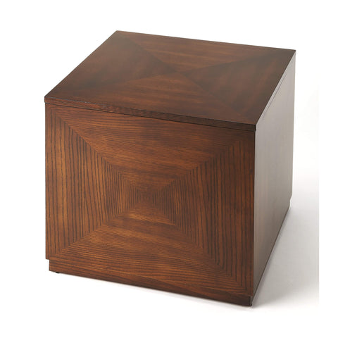 Butler Summerlin Chestnut Burl Bunching Cube 2425108-Accent Table-Floor Mirror Gallery