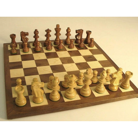 Small Shshm French Set, WW Chess, India-China, 25SF-WC, by WorldWise Imports-Chess Set-Floor Mirror Gallery